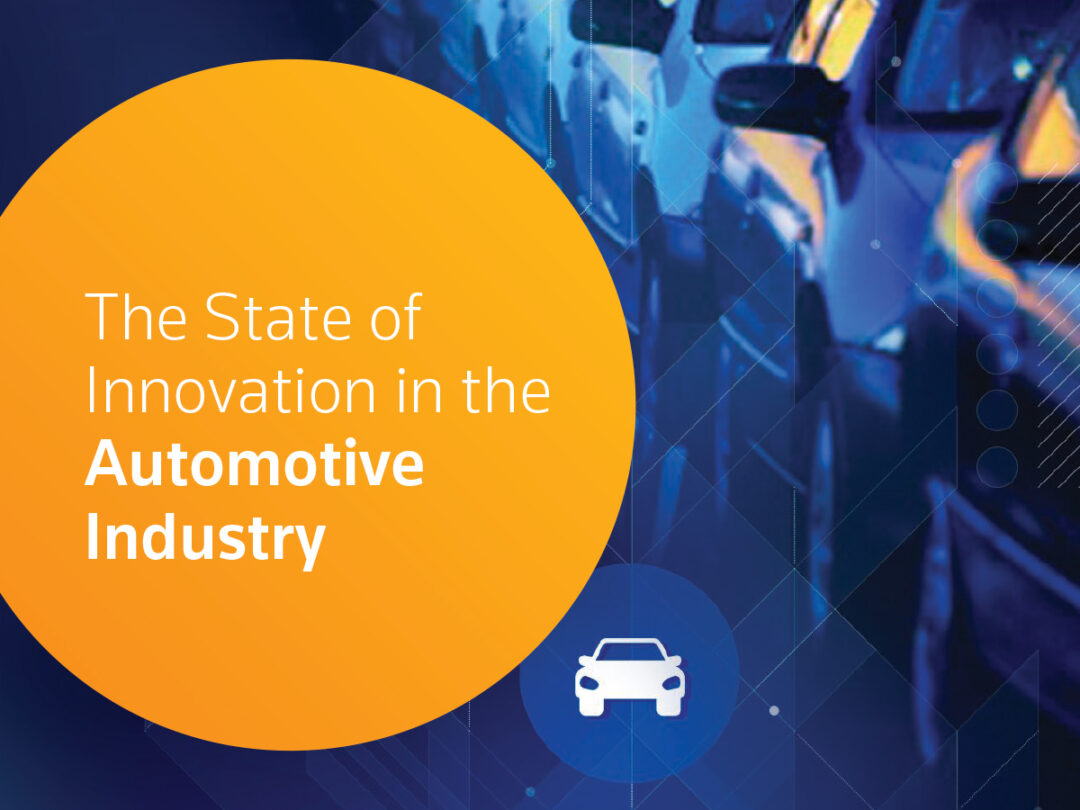 The State of Innovation in the automotive industry