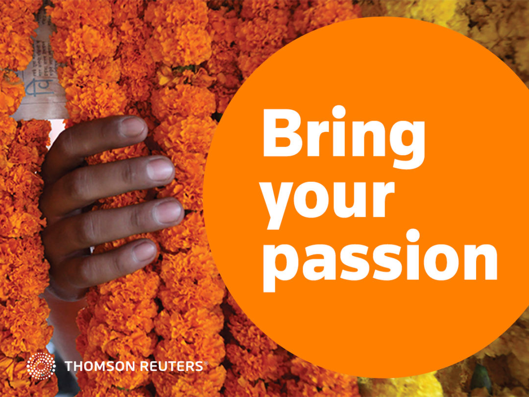 Talent recruitment campaign for Thomson Reuters