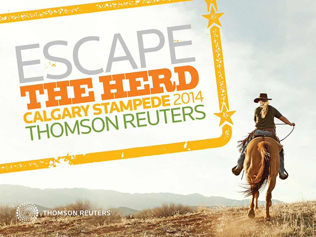 Thomson Reuters Calgary Stampede event