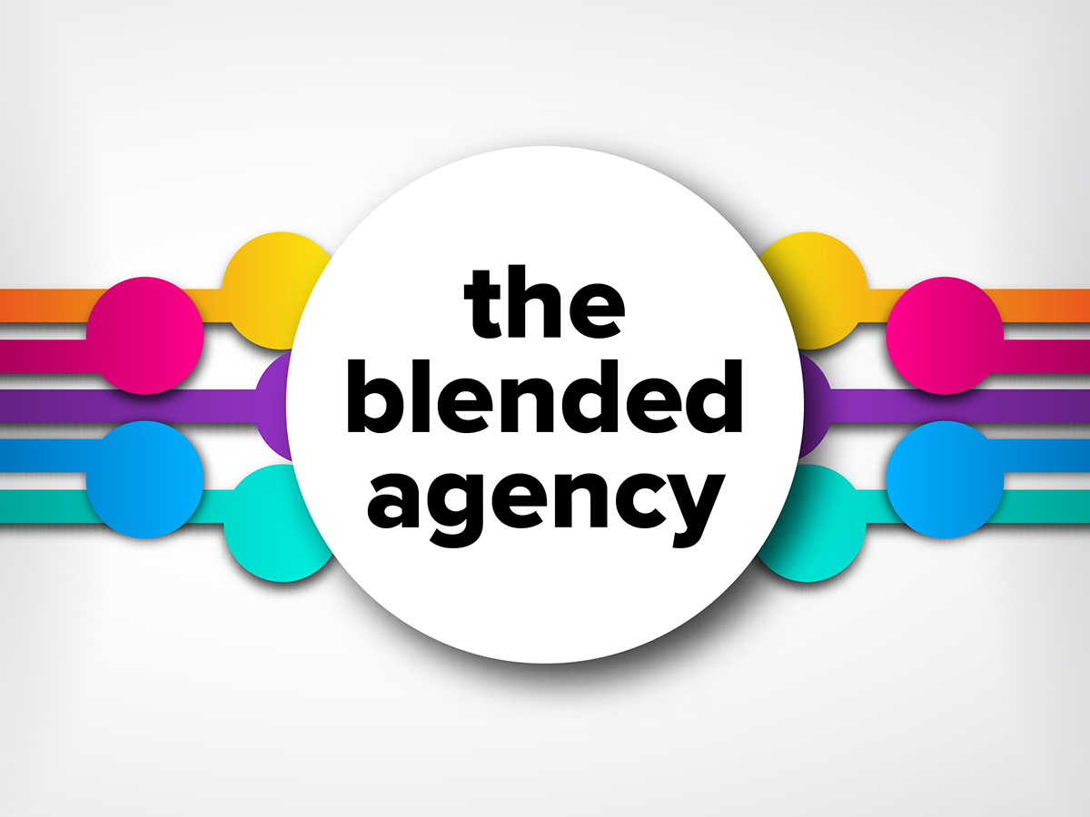 Blending in and standing out: embracing the blended agency model