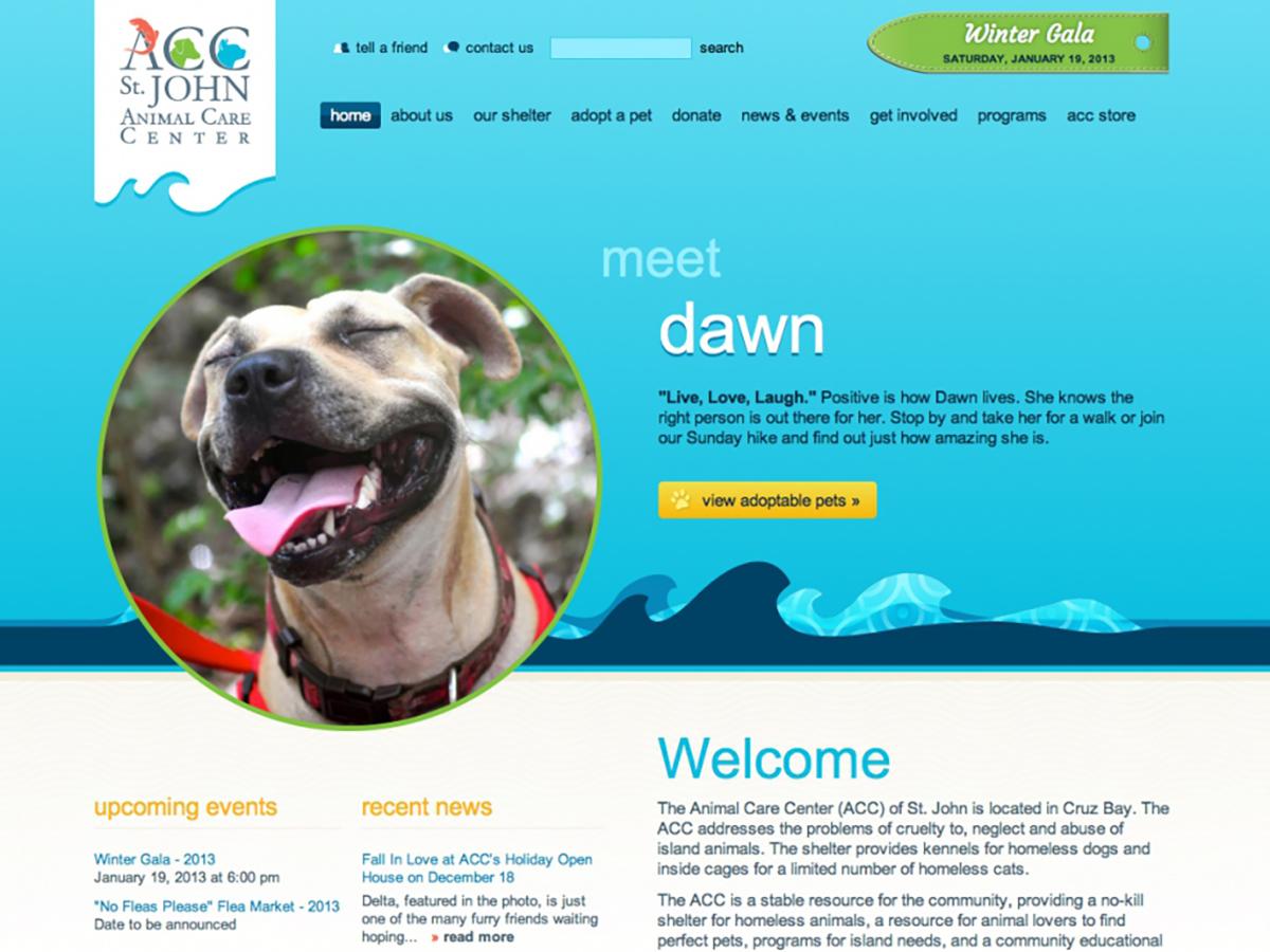 Giving back: St. John Animal Care Center