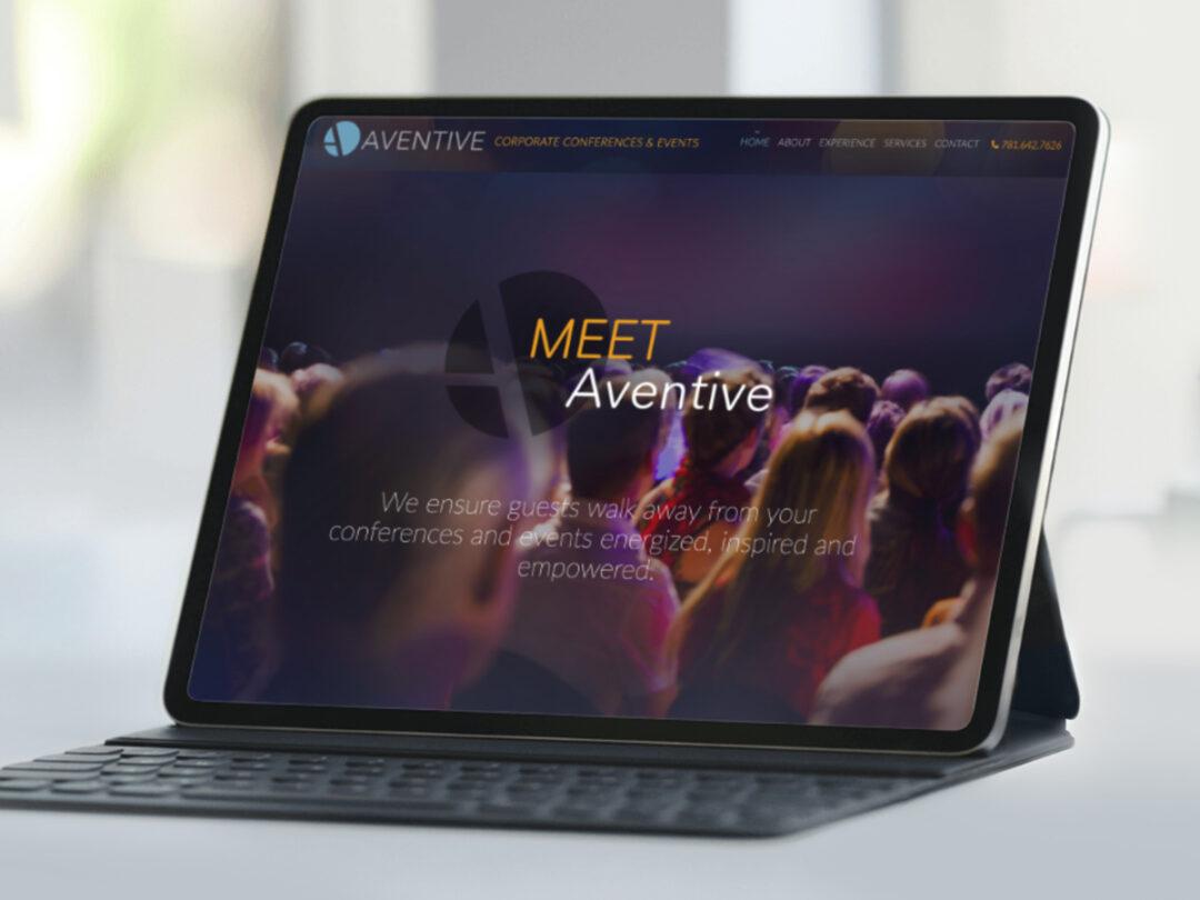 Aventive, Inc. brand identity & website