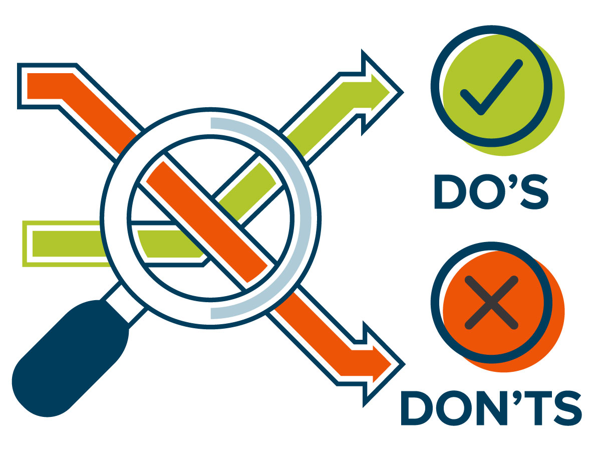 How to avoid an infographic fail: do's and don'ts