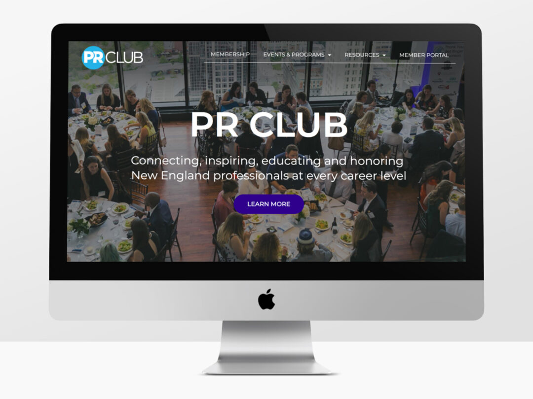 New website for PR Club