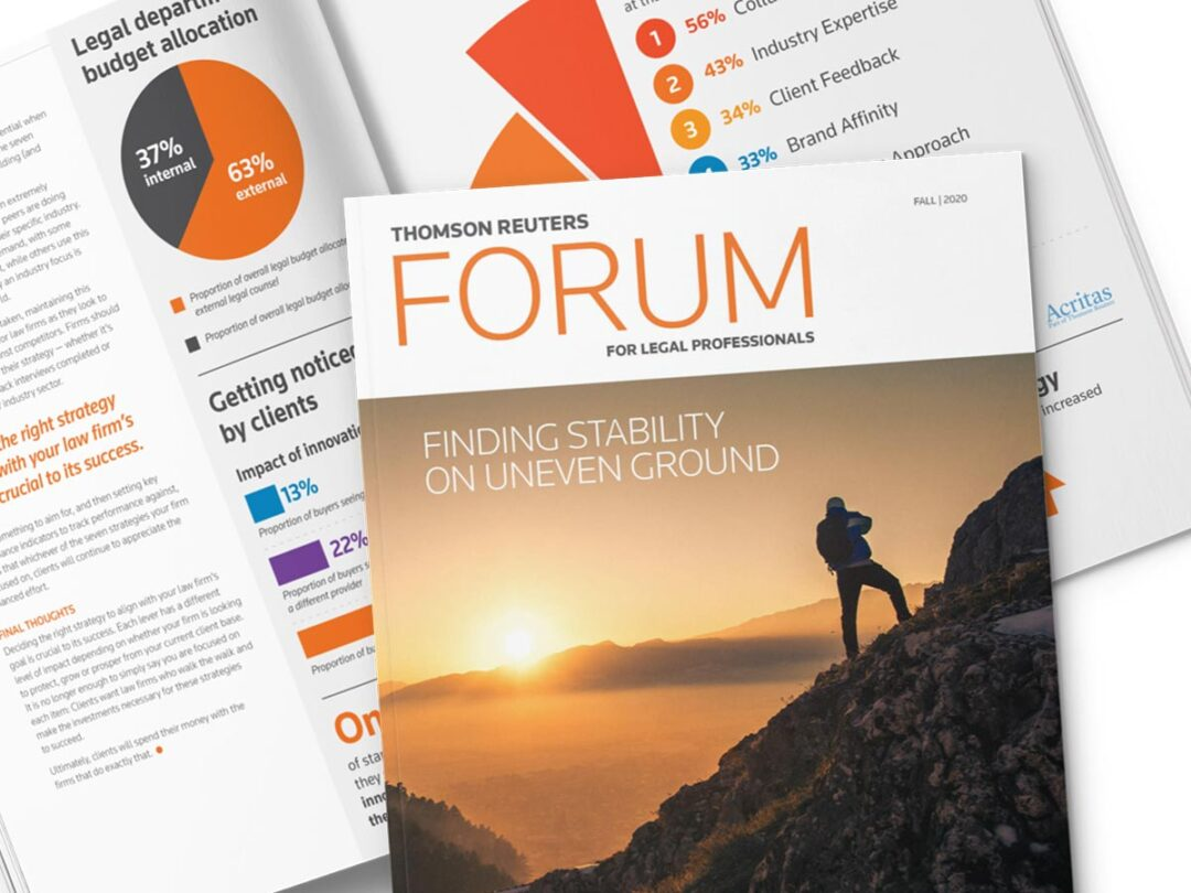 Thomson Reuters Forum magazine