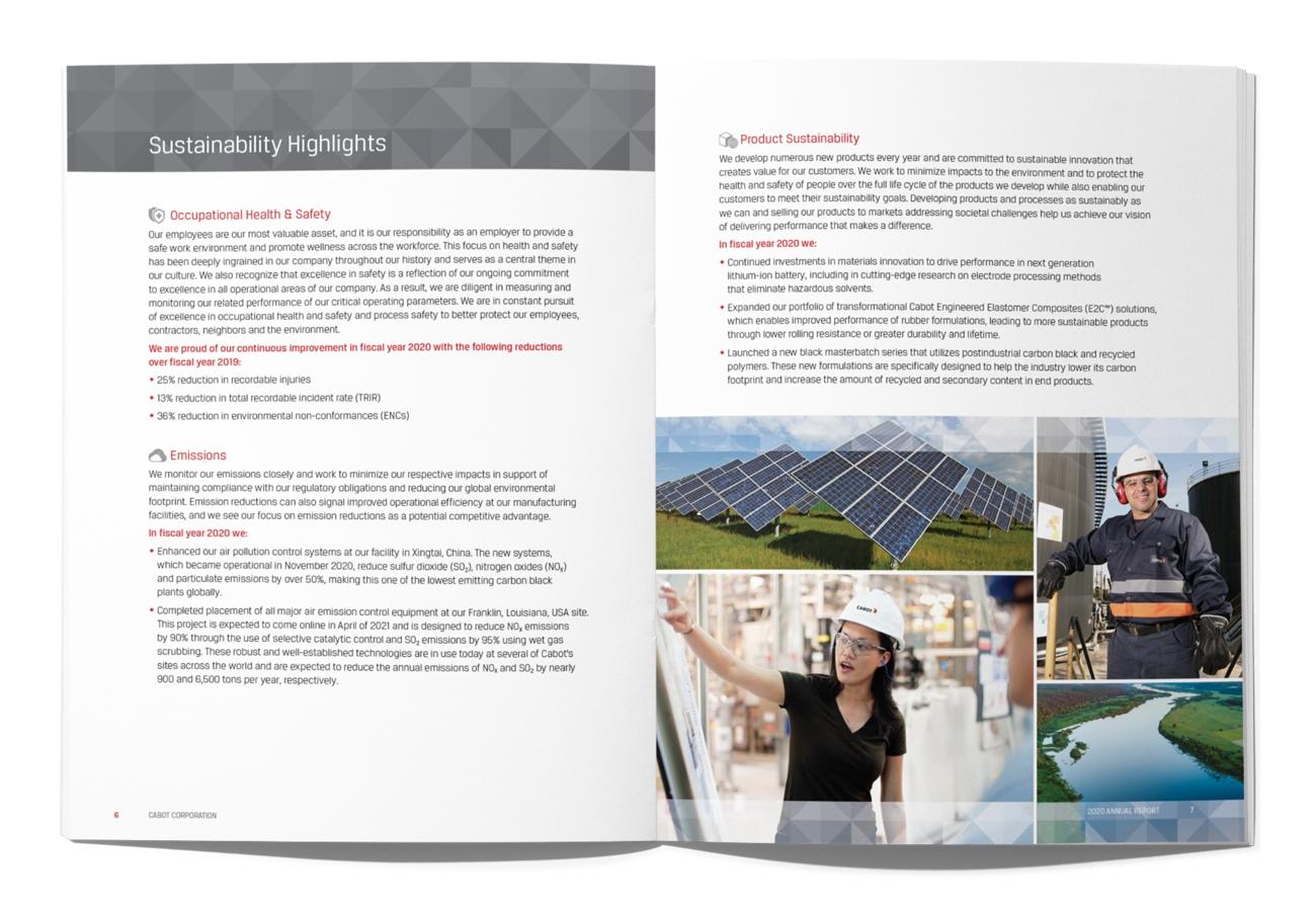 Corporate Sustainability Report