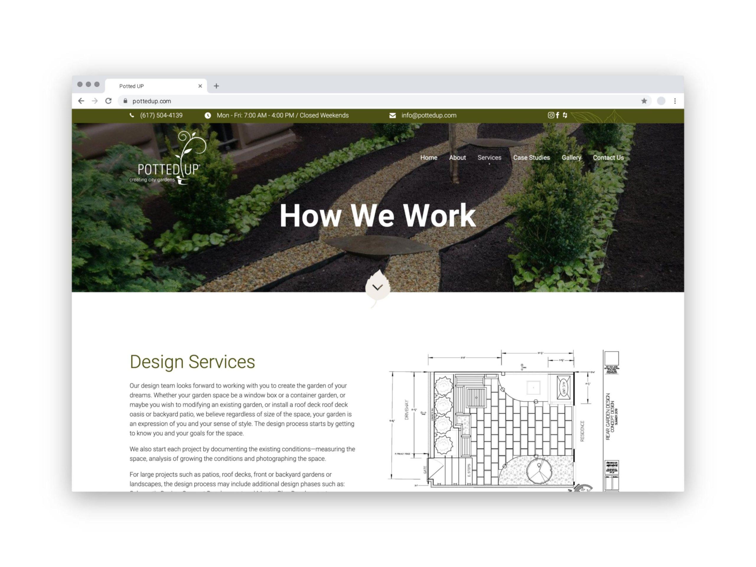 Potted UP Website Browser 2
