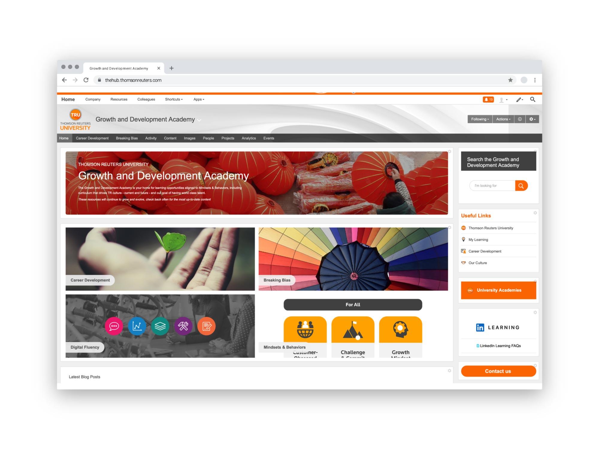 Mindsets and Behaviors Hub Page