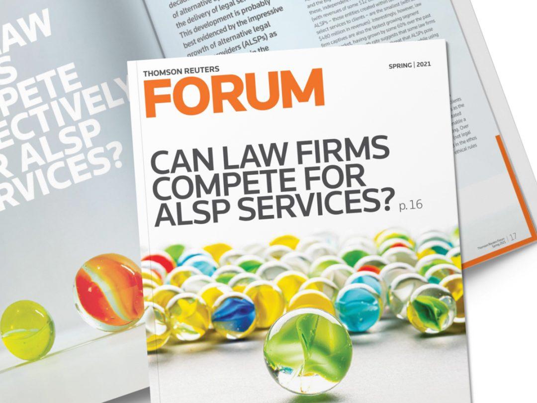 A new design for Forum magazine