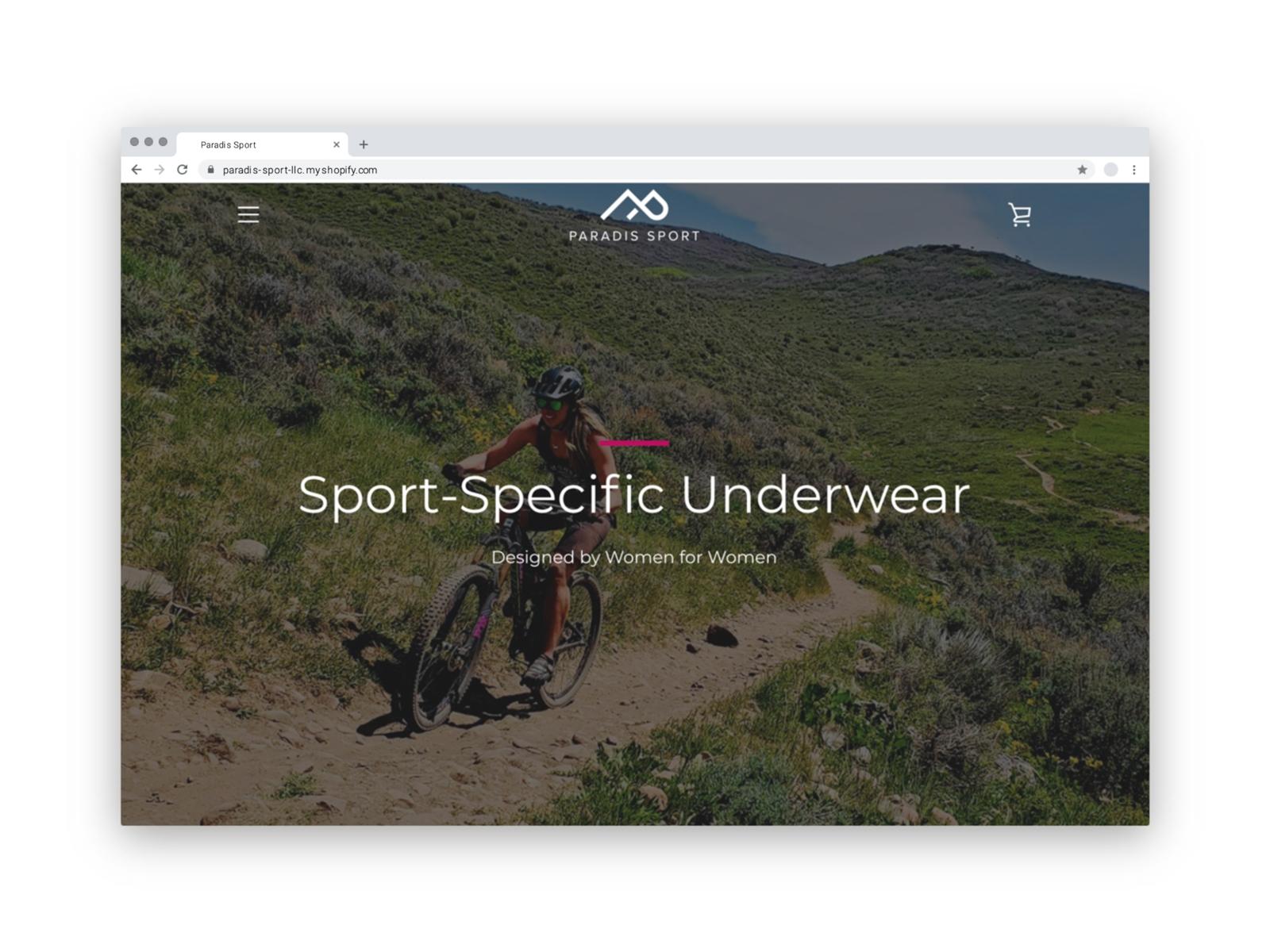 Paradis Sport Website