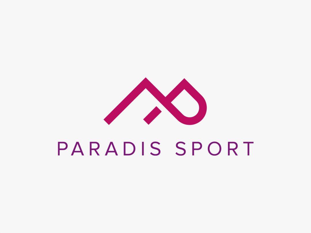 Paradis Sport logo and website design